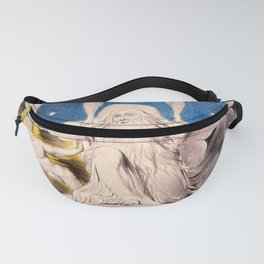 "William Blake ""When the Morning Stars Sang Together"" Fanny Pack"