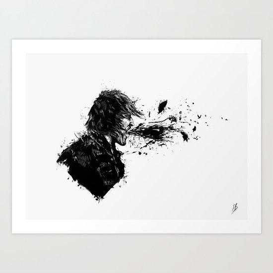 scream II Art Print