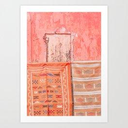 Marrakech Markets Art Print