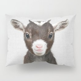 Baby Goat - Colorful Pillow Sham