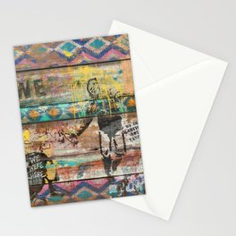 Art isn't a Crime (Molotov Cocktail) Stationery Cards