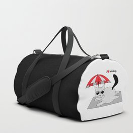 Beatrice. The cat that loves... holidays Duffle Bag