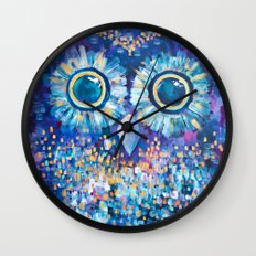 Visions in the Night Wall Clock
