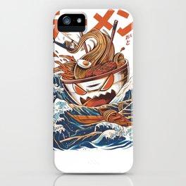 Great Ramen off kanagawa iPhone Case