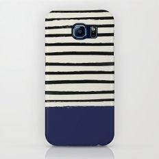 Navy x Stripes Slim Case Galaxy S8