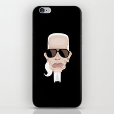 Karl Lagarfeld iPhone Skin