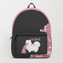 Fido, That's So Fetch! (In Grey) Backpack