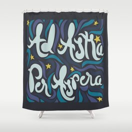 Ad Astra  Shower Curtain
