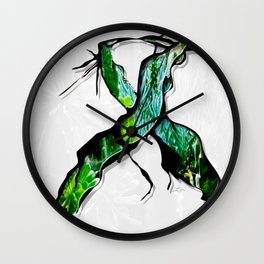 Meet in the Middle Wall Clock