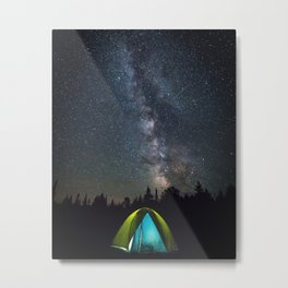Night under the stars Metal Print