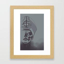 In Papa We Trust Framed Art Print