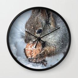 Magic Nutcracker Wall Clock