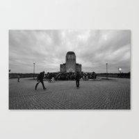 hiphop Canvas Prints featuring A Great Day in Dutch Hiphop History by Een Grootse Dag