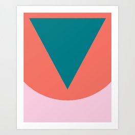 Cacho Shapes LXXXII Art Print