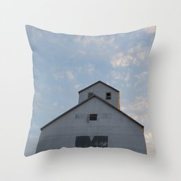 Sturgeon Bay Granary Throw Pillow
