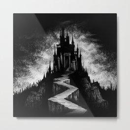 Vampire Castle Metal Print
