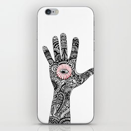 hand that feeds iPhone Skin