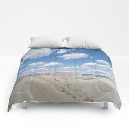 desert clouds Comforters