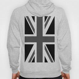 Union Jack - Black and White Hoody