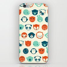 Menagerie iPhone Skin