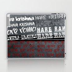 Hare Krishna Laptop & iPad Skin