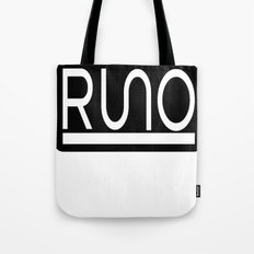 RUNO Bordered Design Tote Bag
