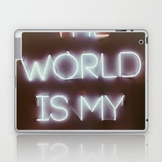 The World is my Runway (color) Laptop & iPad Skin