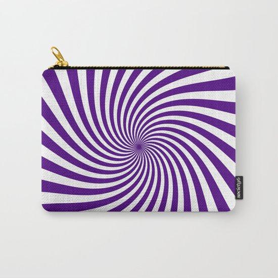 Swirl (Indigo/White) Carry-All Pouch