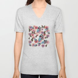 Spring Inspiration Digital Art Unisex V-Neck