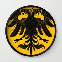 Sacred Roman Empire Eagle Wall Clock
