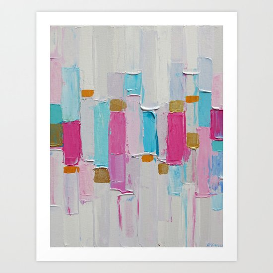 Cool Rhizome No. 2 Art Print