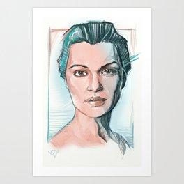 rachel weisz Art Print