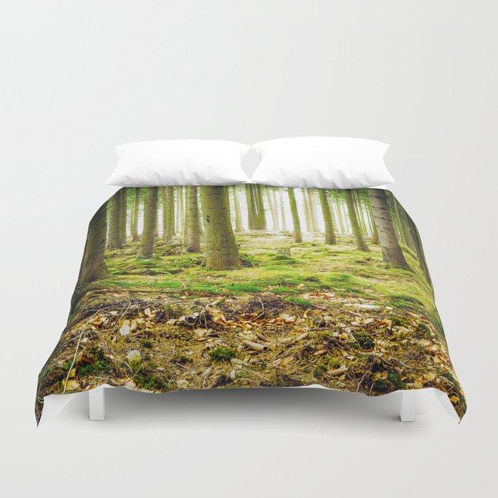 A Fairytale Forest Duvet Cover