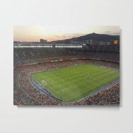 Camp Nou Metal Print