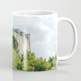 Walls of the medieval white village of Ostuni Coffee Mug