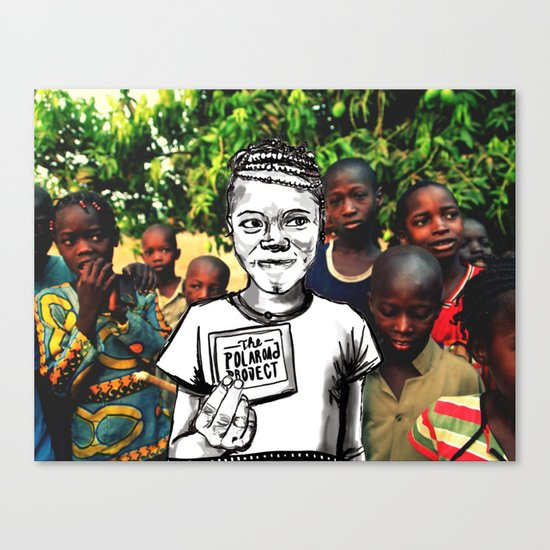 The Polaroad Project Canvas Print