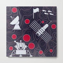 Moonmorphology Metal Print