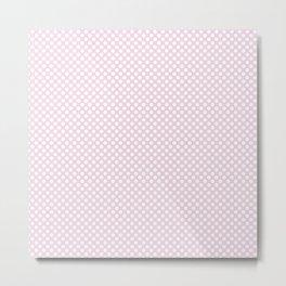 Ballet Slipper and White Polka Dots Metal Print