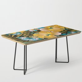 Golden Vintage Aloha Coffee Table