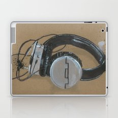 Sol Republic Headphones - These are the things I use to define myself Laptop & iPad Skin