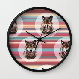 she`s a wolf Wall Clock