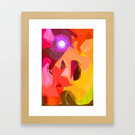 Colour Inflation Framed Art Print
