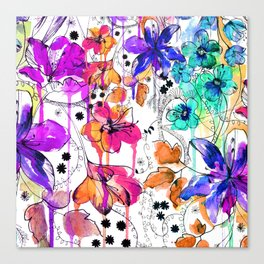 Lost in Botanica Canvas Print