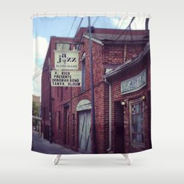 Blues Alley (Washington, DC) Shower Curtain