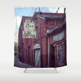 Blues Alley (Washington, DC) Shower Curtain