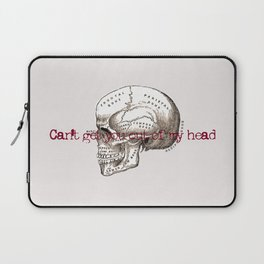 Can't get you out of my head vintage illustration Laptop Sleeve