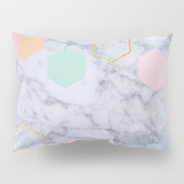 Marbled Pillow Sham