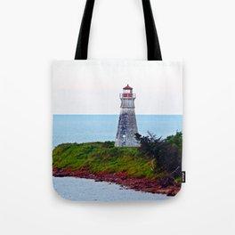 Lighthouse Cape Jourimain N-B Tote Bag