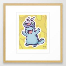 :D Framed Art Print