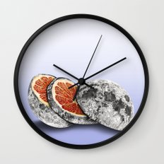 In which there is a mandarin in the moon Wall Clock